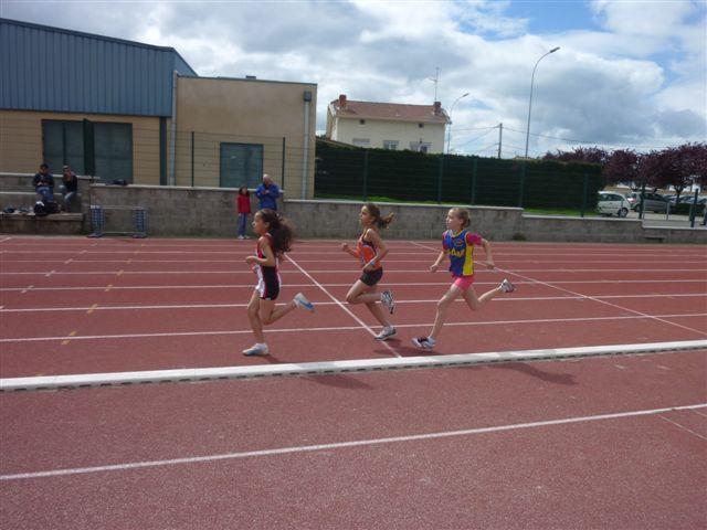 La piste et mon premier 1000m en 4minutes