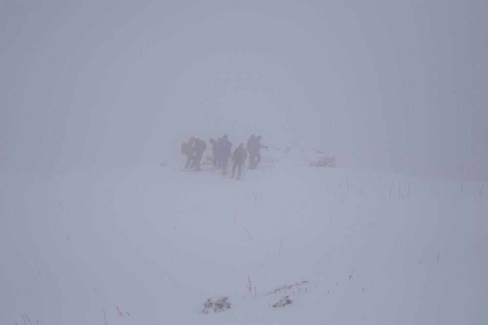 Ski de randonnée au Rocher du Cléton