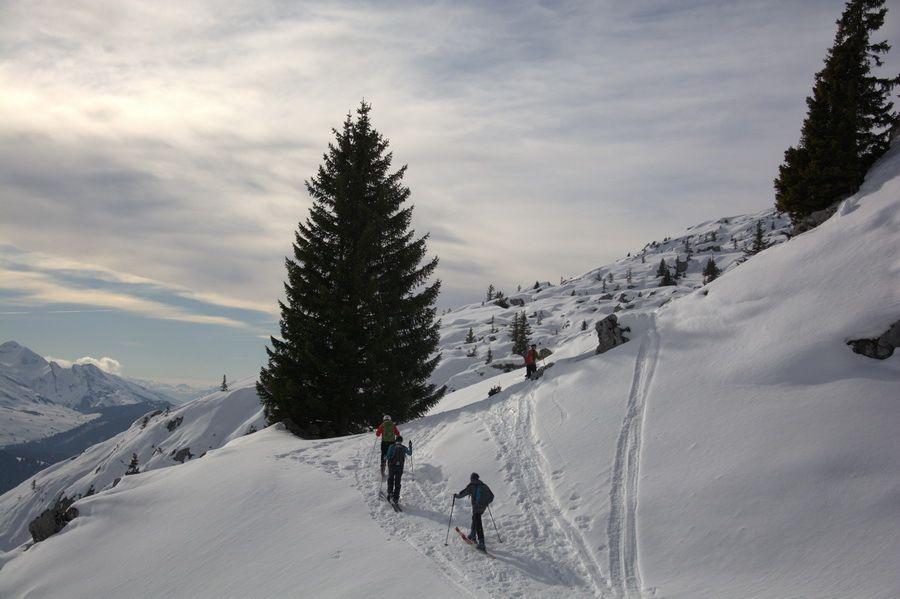 Ski de rando le Roc des Tours