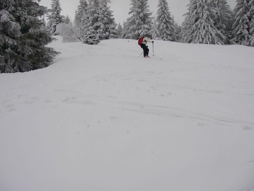 """Ski de rando """"Grand Rocher"""""""