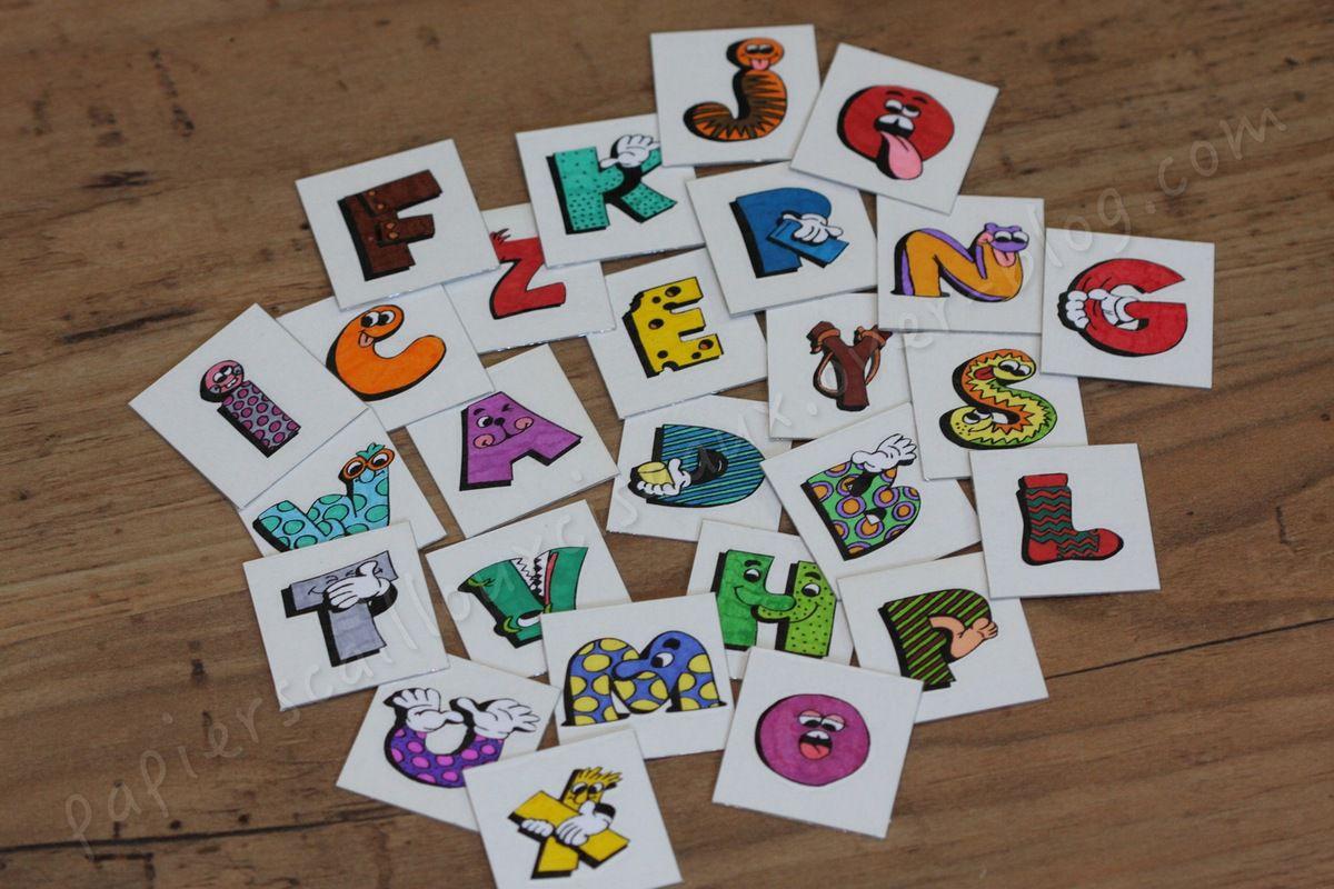 L'alphabet rigolo