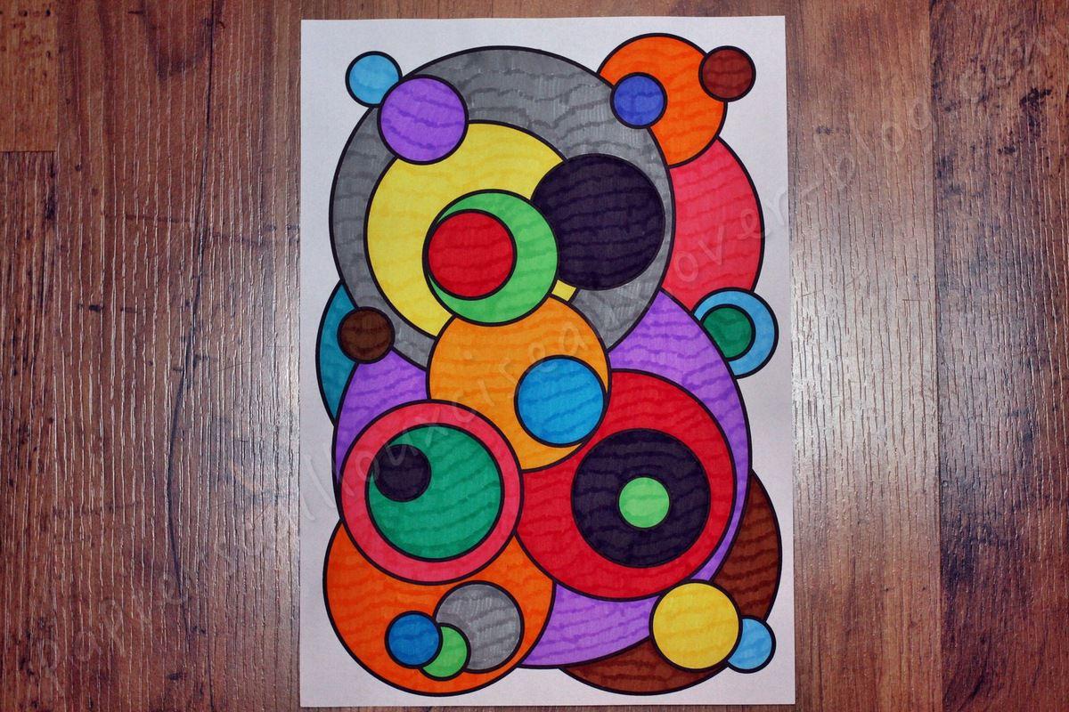 Des cercles, des bulles, des billes... bref des ronds !