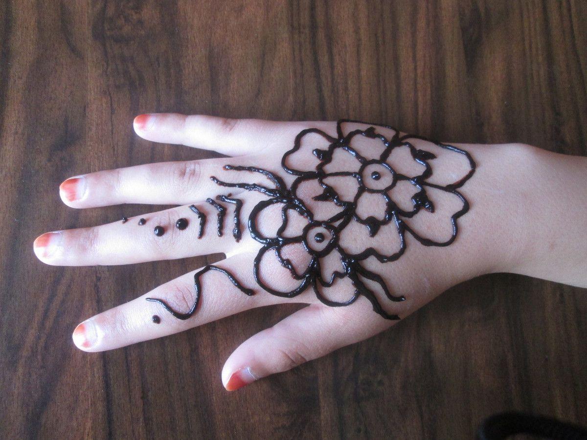 Dessin henn sur les mains blog nation - Dessin de henne pour les mains ...