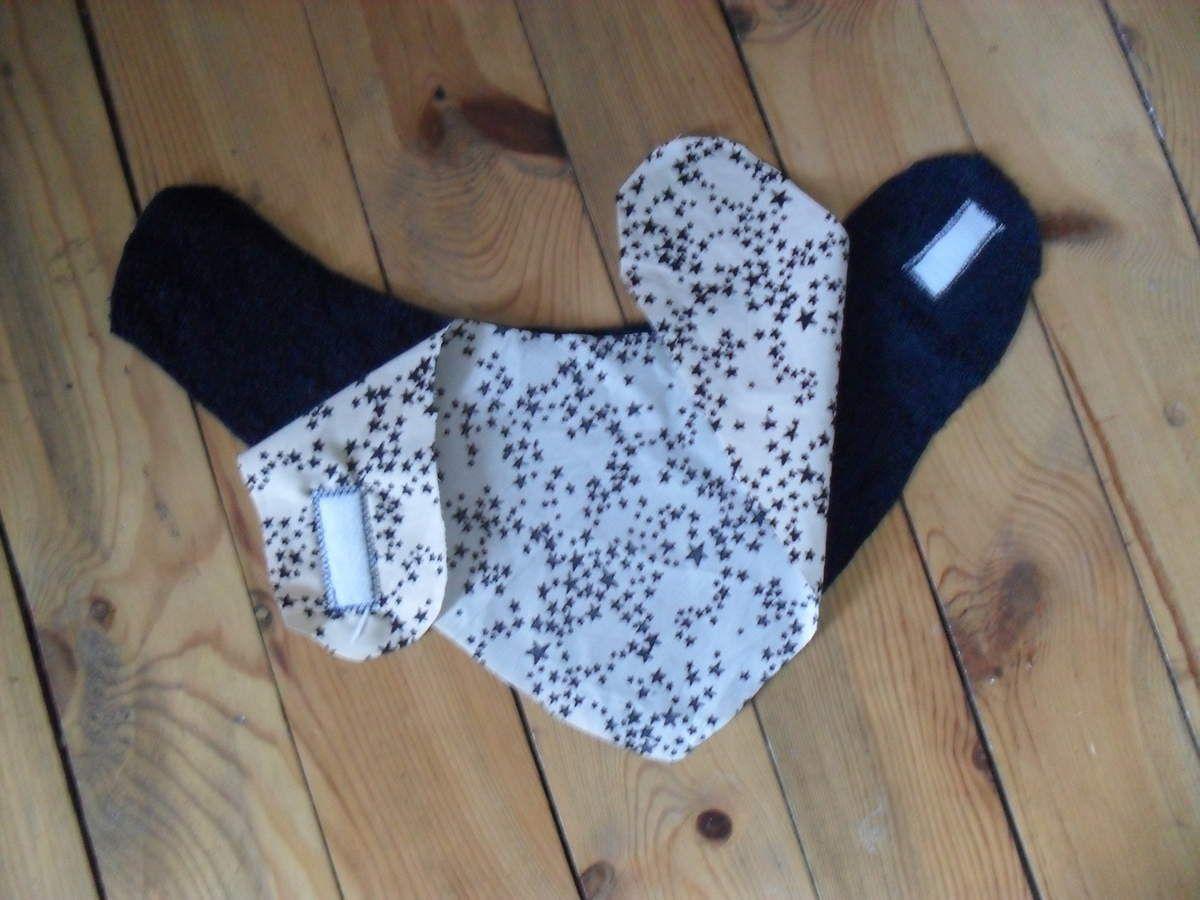 Tuto dodu : apprends à coudre un bavoir foulard