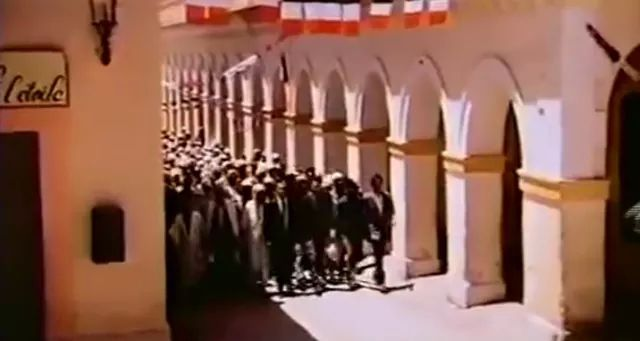 Images d'un grand film tourné à Laghouat.