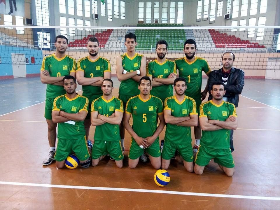 Le Mouloudia de Laghouat(MCBL) volley ball.