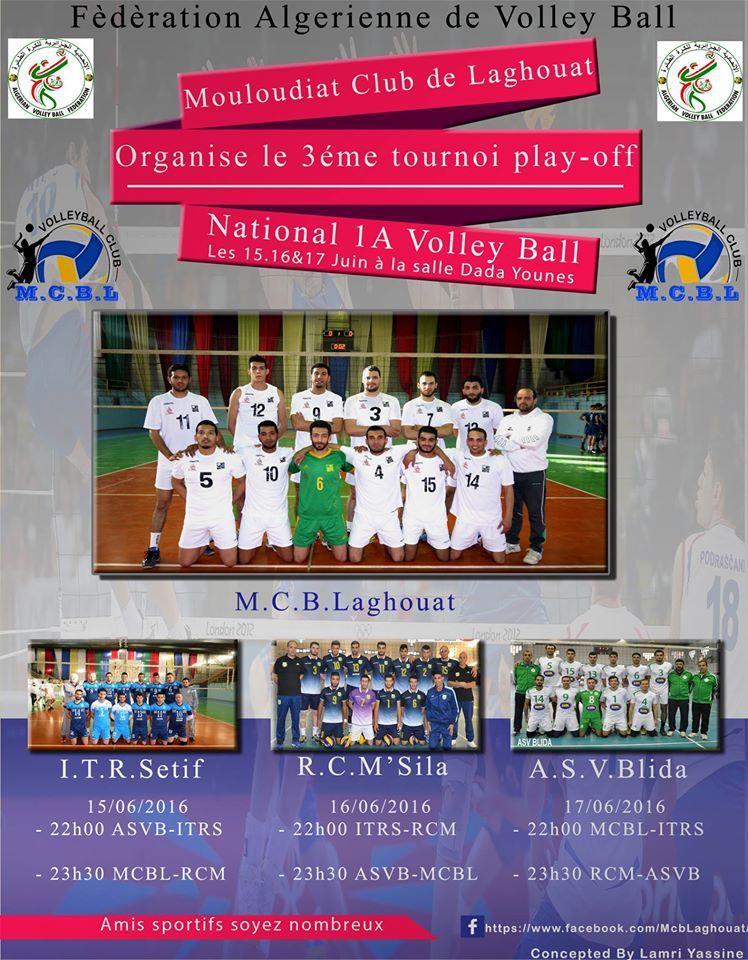 Bientôt, le dernier tournoi de volley de la saison à Laghouat.