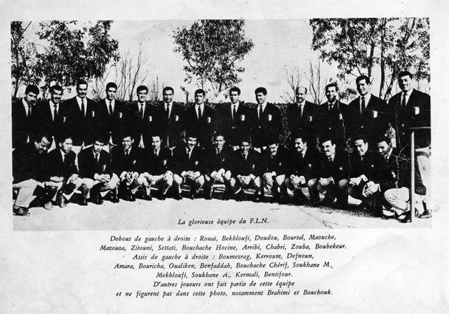Le plus beau des souvenirs:La glorieuse équipe nationale du FLN.