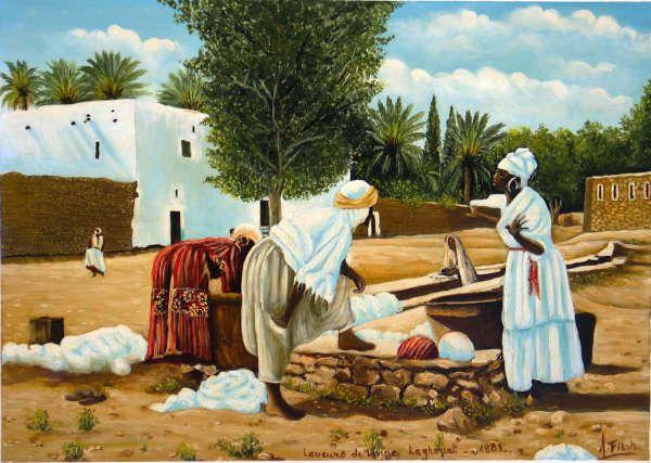 Art et culture: oeuvres de l'artiste peintre A.Fillah.