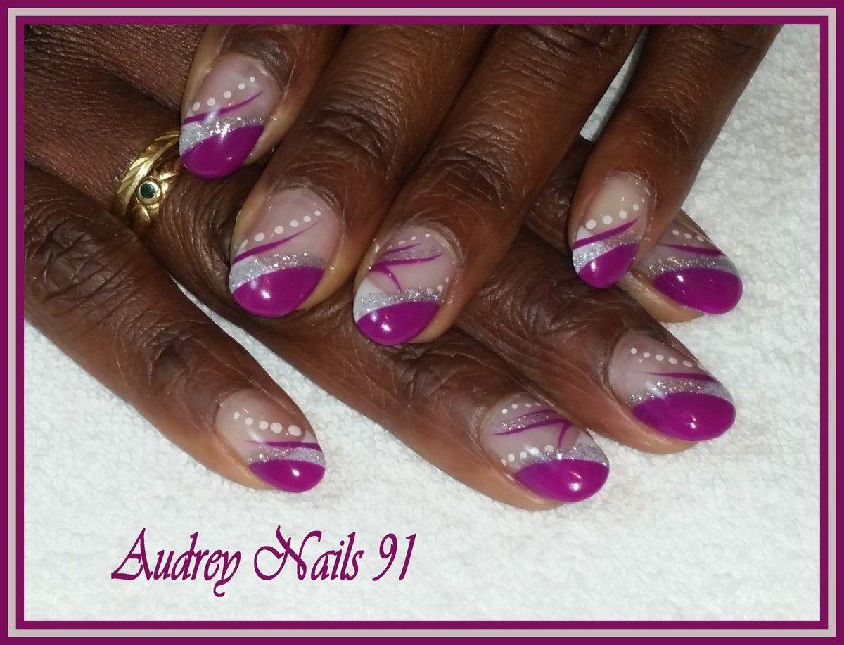 Nail Art Hypnotic Violet