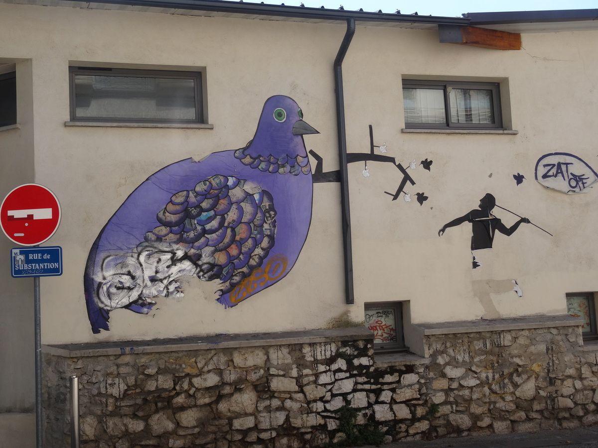 Street art à Montpellier: Beaux arts et quai du Verdanson