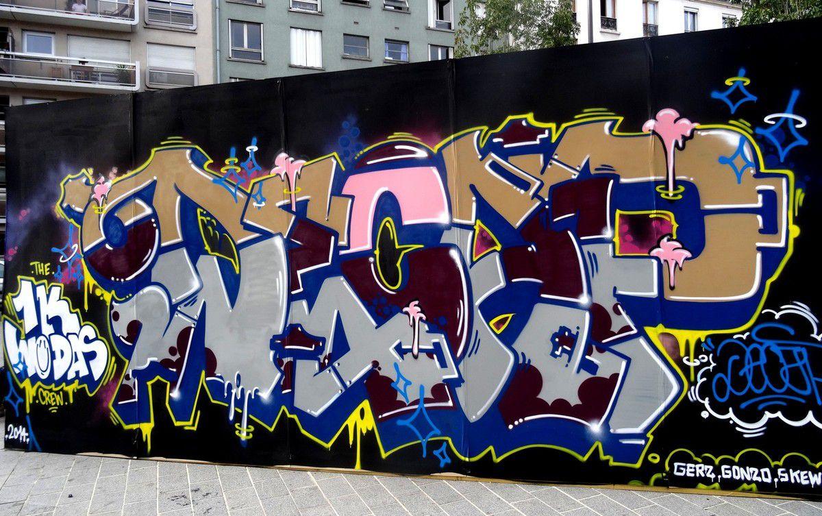 festival street art: Top to bottom