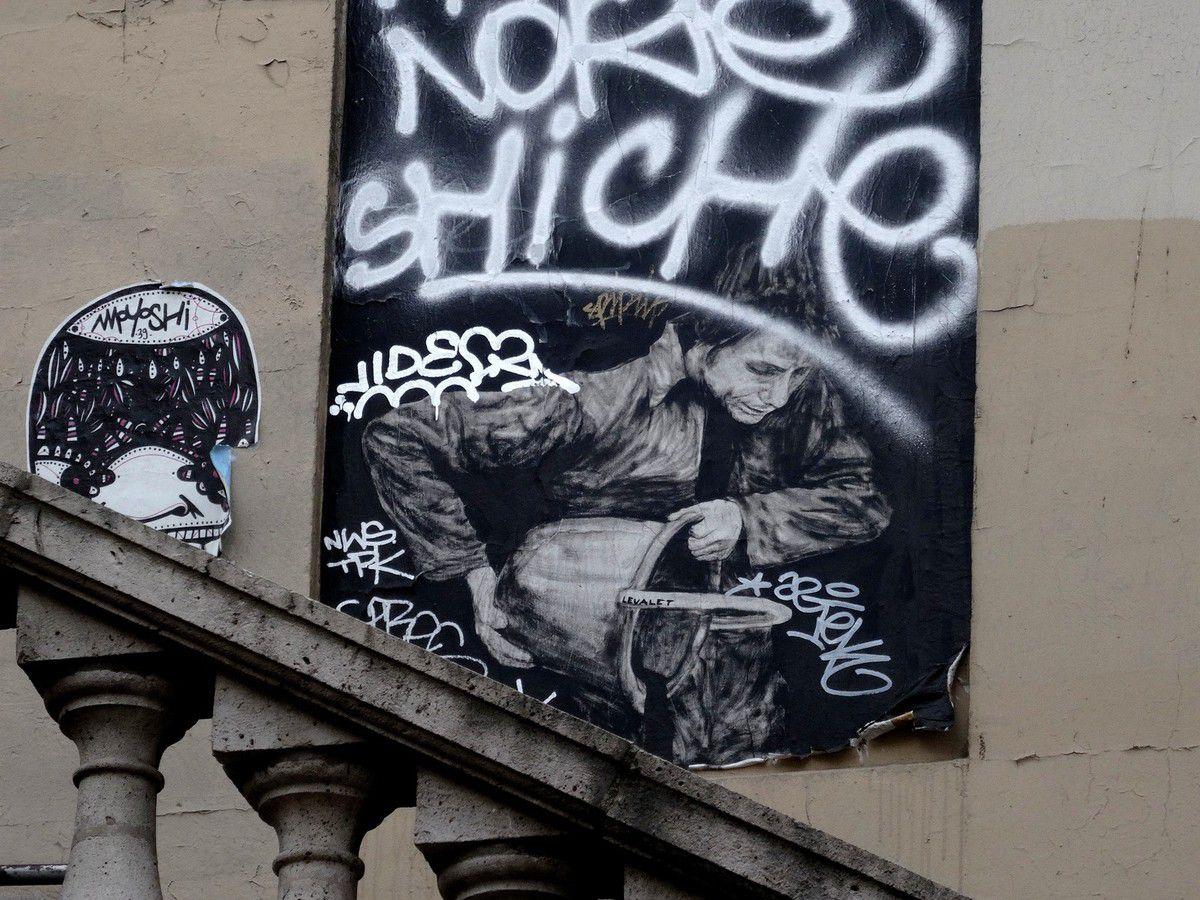 Street art dans le 13ème