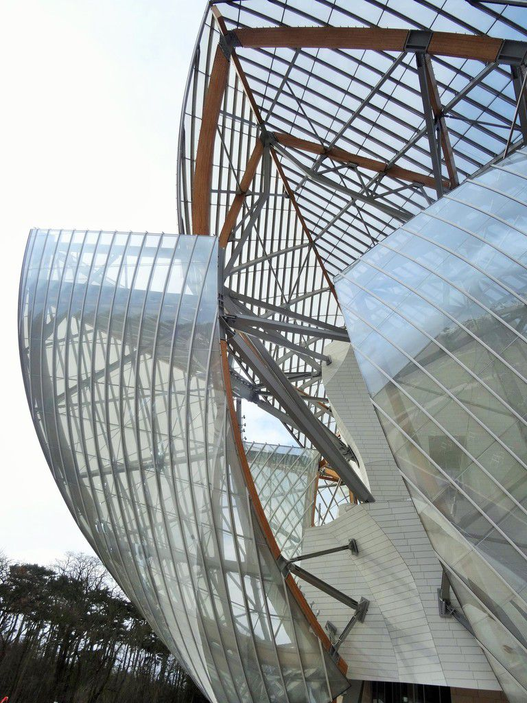 Visite à La fondation Louis Vuitton