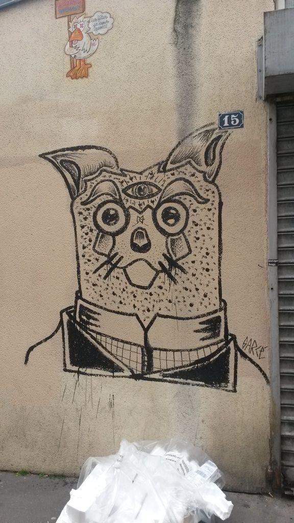 Street art dans le 13ème (Paris)