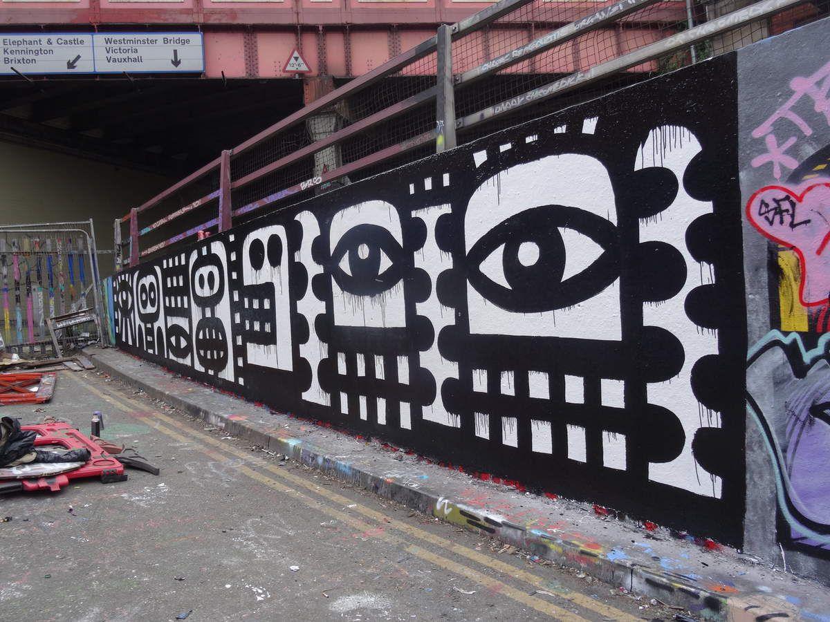 &quot&#x3B;Banksy's Tunnel&quot&#x3B;: Tunnel de street art à Londres