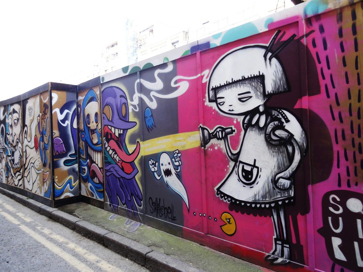 Balade street art à Shoreditch, Londres