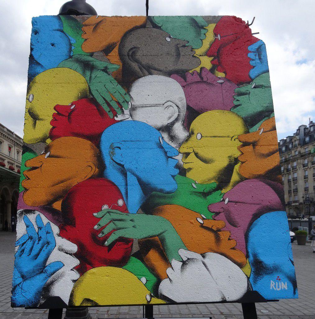 Art liberté: du Mur de Berlin au street art