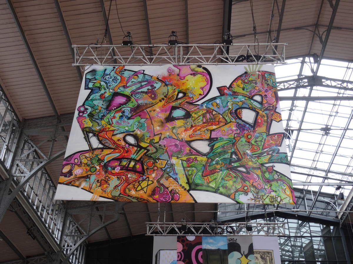 "Villette street festival: exposition ""urban art"""