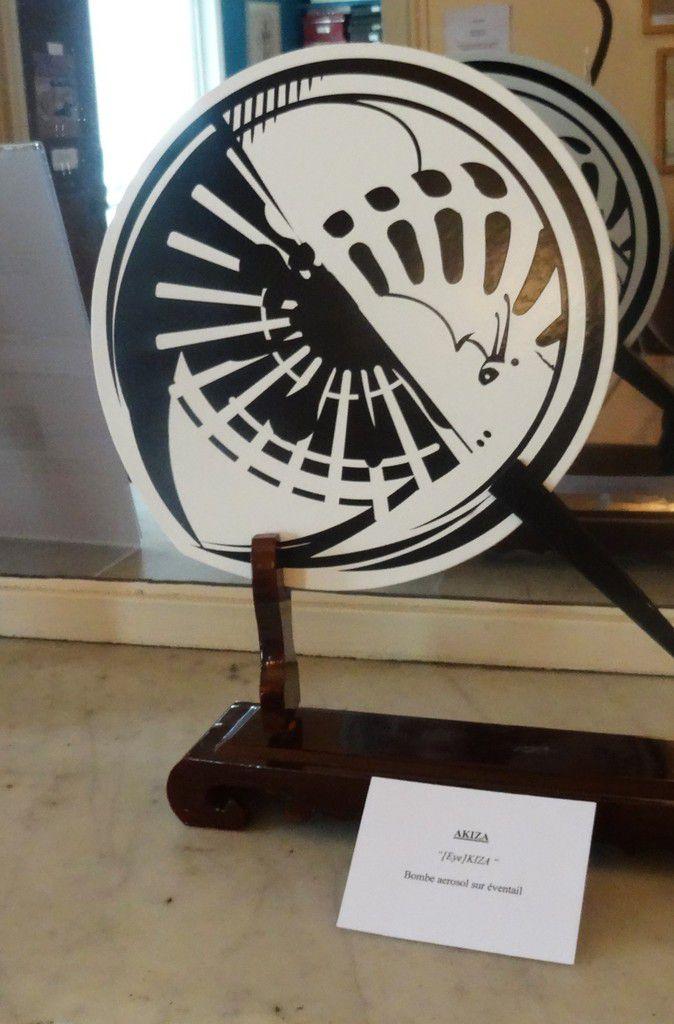 """Exposition """"street fans"""" au musée de l'éventail"""
