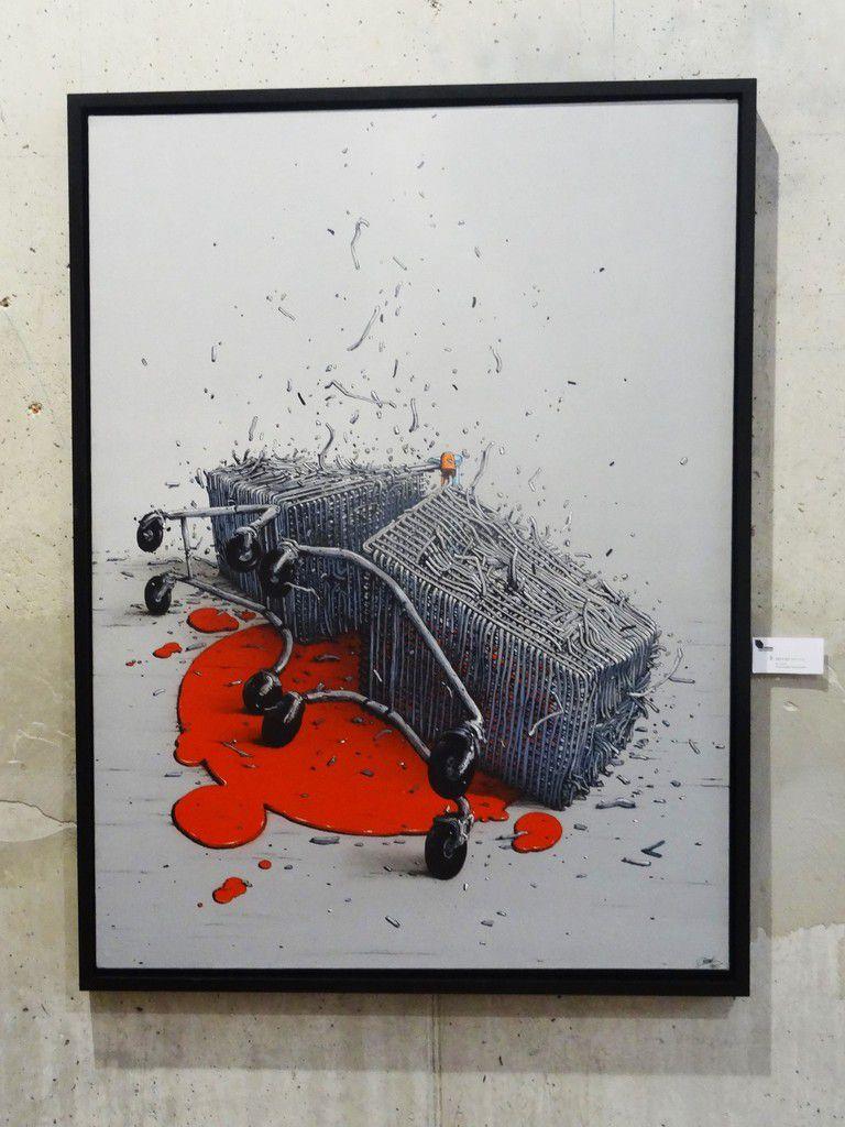 "Exposition de Brusk ""Ad Vitam Aeternam"" à la galerie Itinerrance"