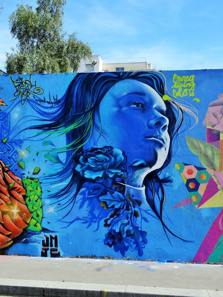 Living colors, street art dans le 19ème