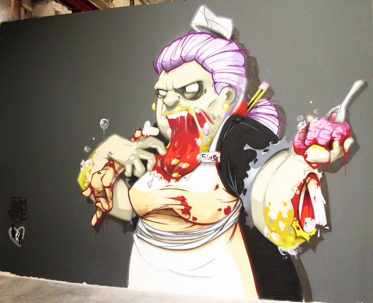 Big Jam : festival street art à Nancy