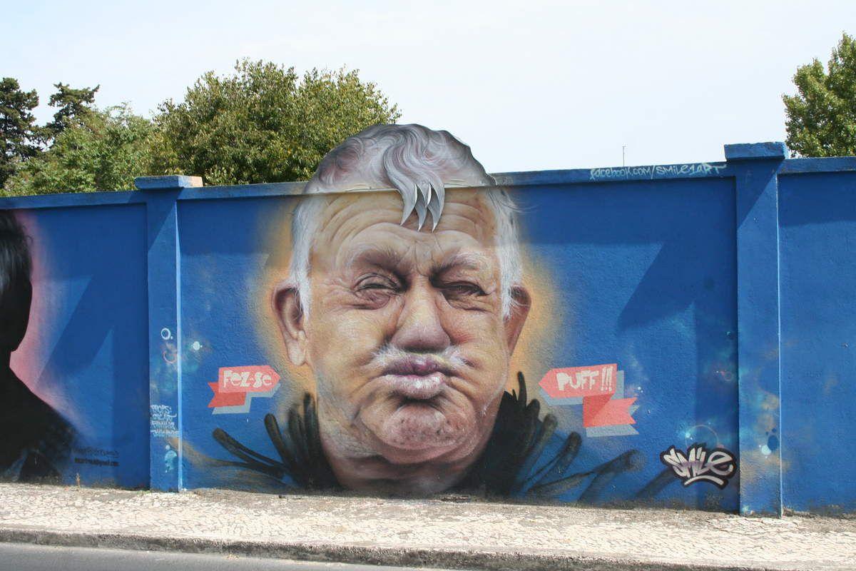 Street art à Lisbonne (Part.2): rua das murtas