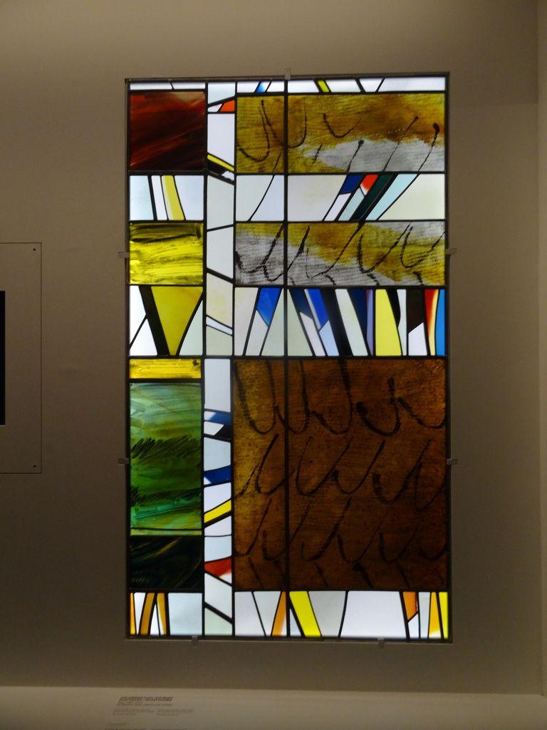 Exposition: « Chagall, Soulages, Benzaken… Le vitrail contemporain »