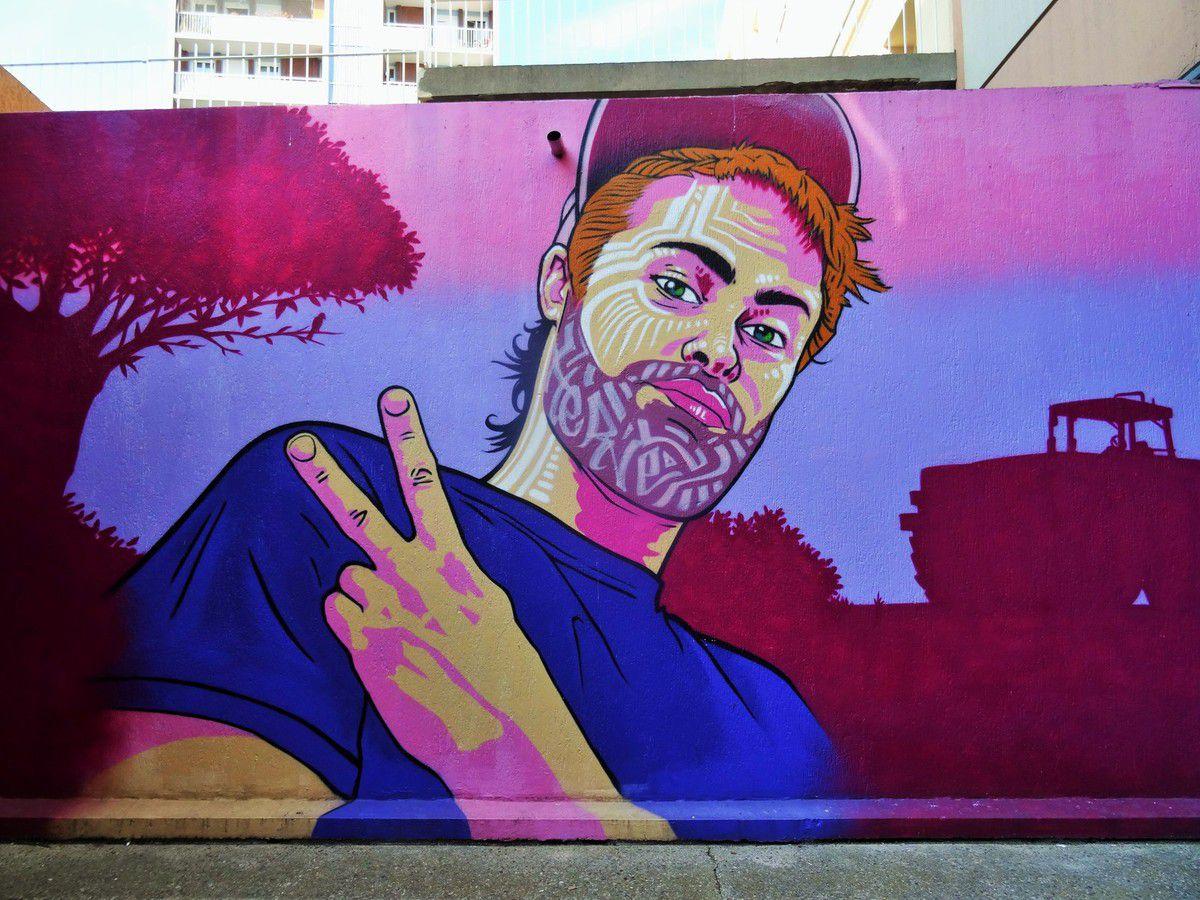 Fresque rue du Docteur Potain