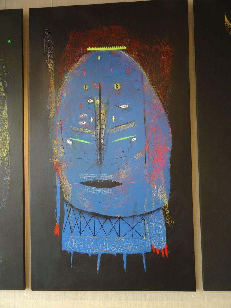 Exposition de Bault à la galerie Artistik Rezo