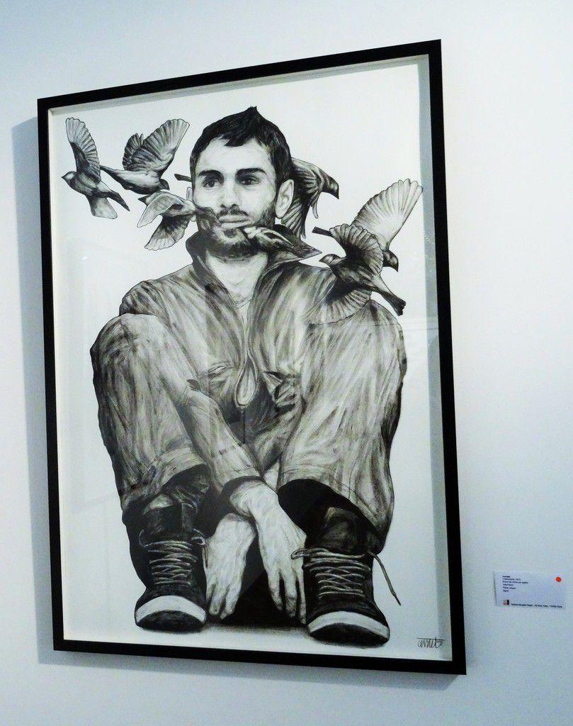 Exposition de Levalet à la galerie Brugier-Rigail