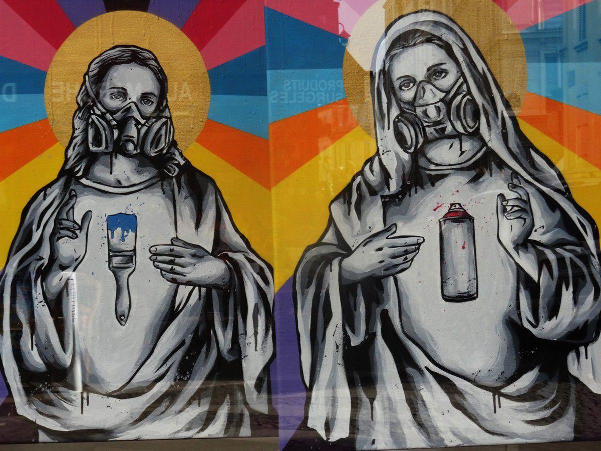 Le street art de Zabou à l'honneur