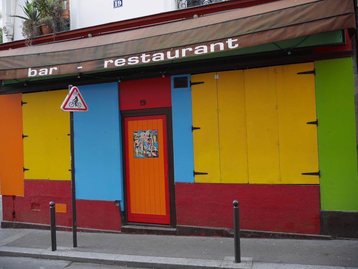 Les couleurs de la rue Sainte-Marthe