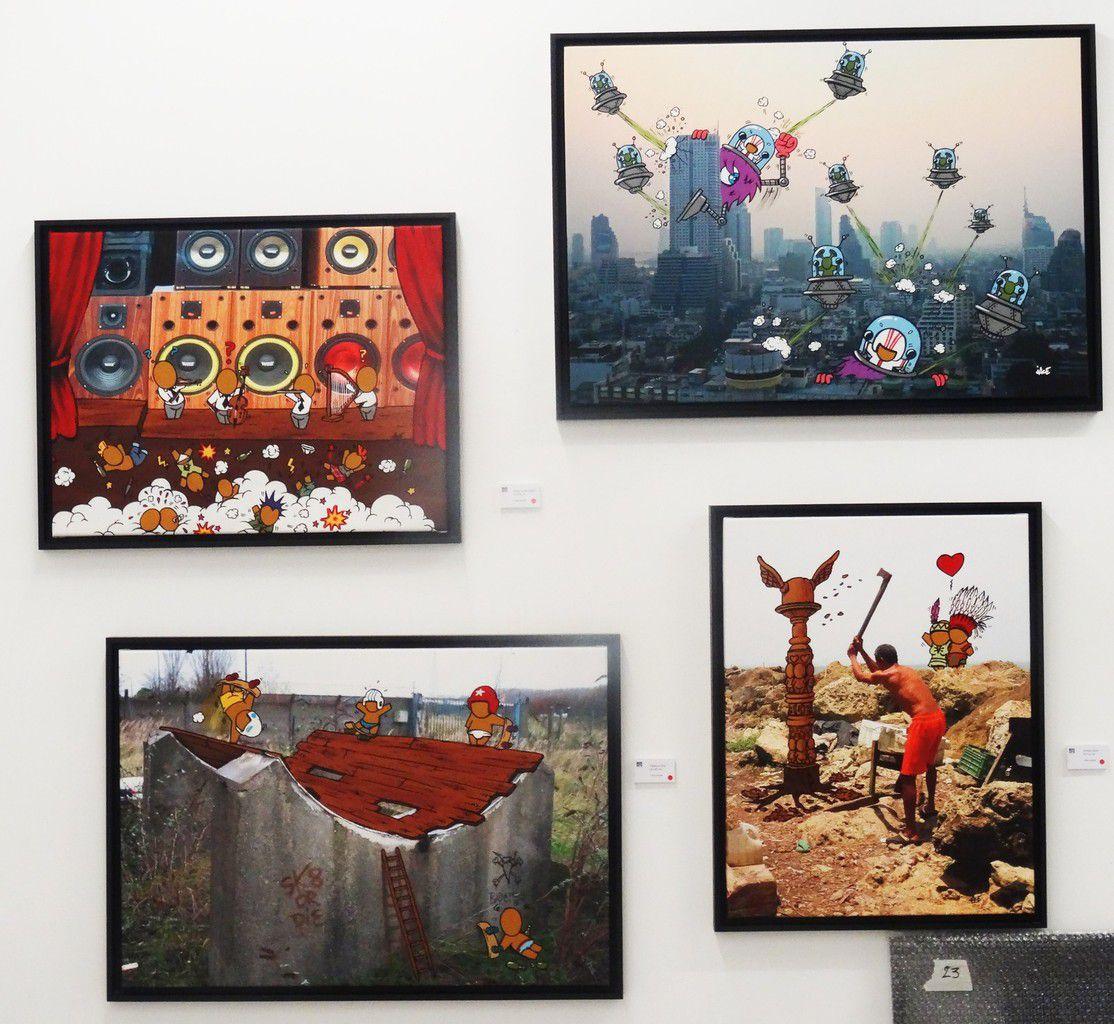 Les &quot&#x3B;Clichés&quot&#x3B; de Jace s'exposent à la galerie Mathgoth