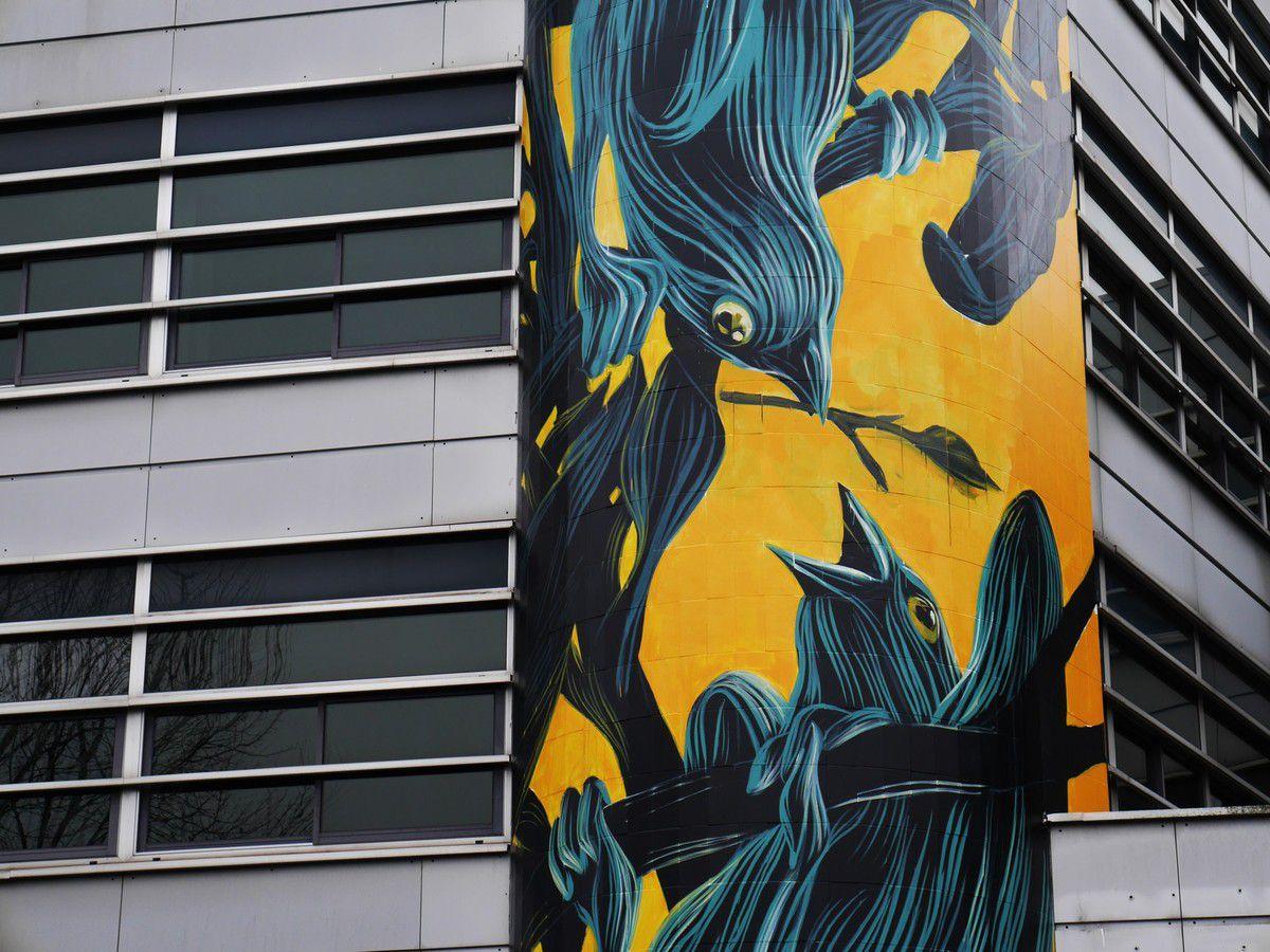 Le street art envahit l'agglomération d'Evry