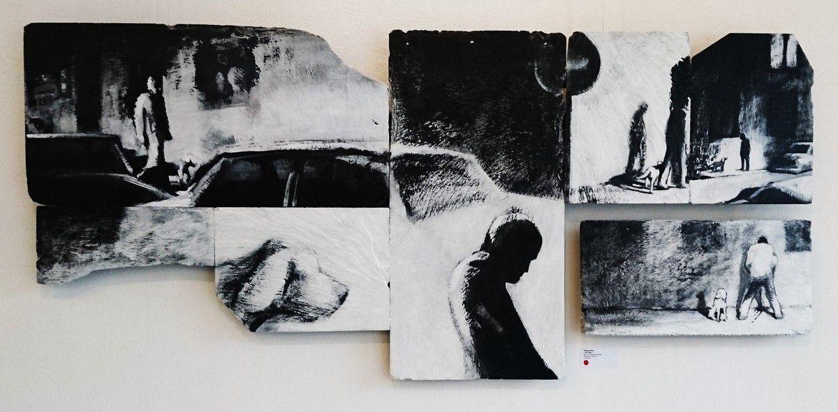 Exposition du noir au blanc au cabinet d'amateur