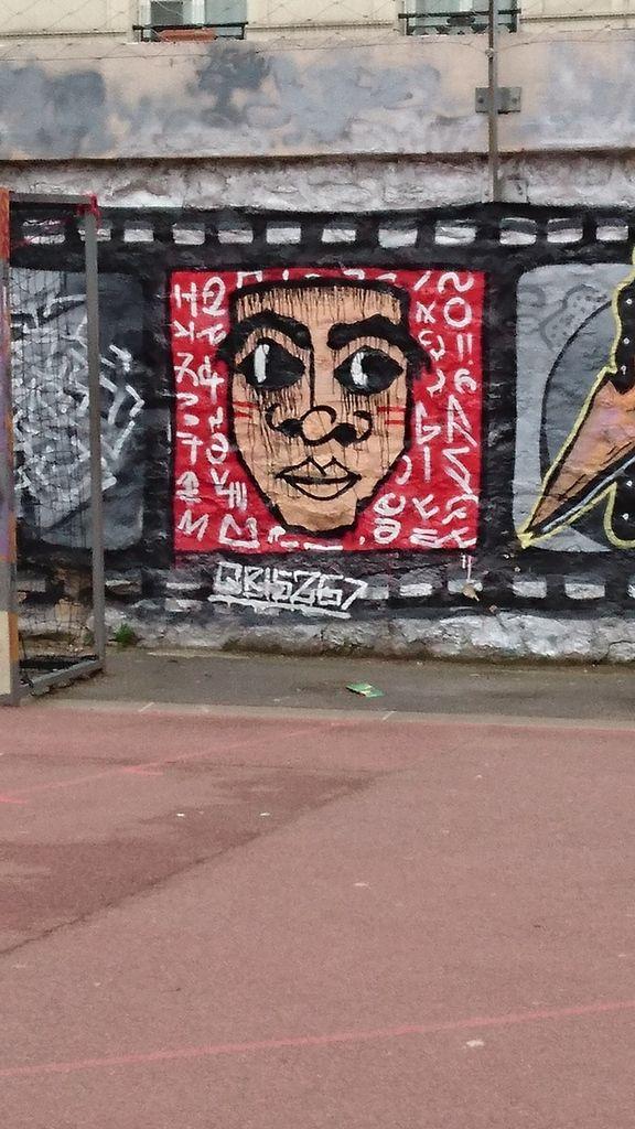 street art au marché d'Aligre