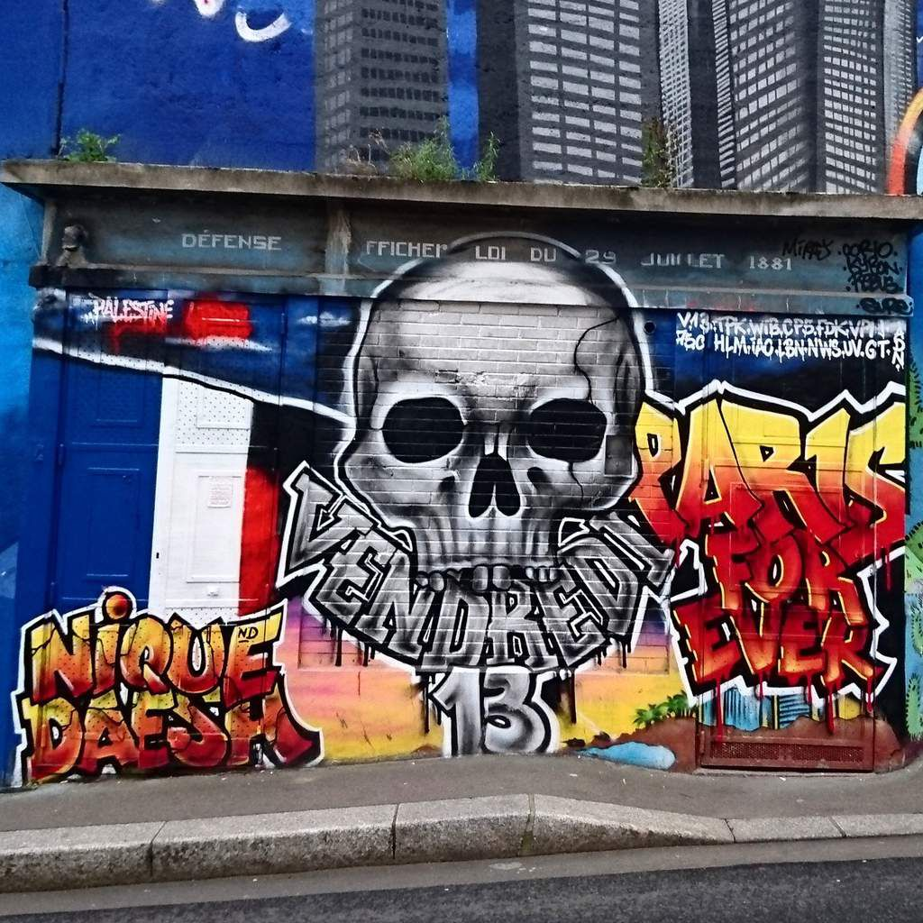 Fresque rue de la poterne des peupliers
