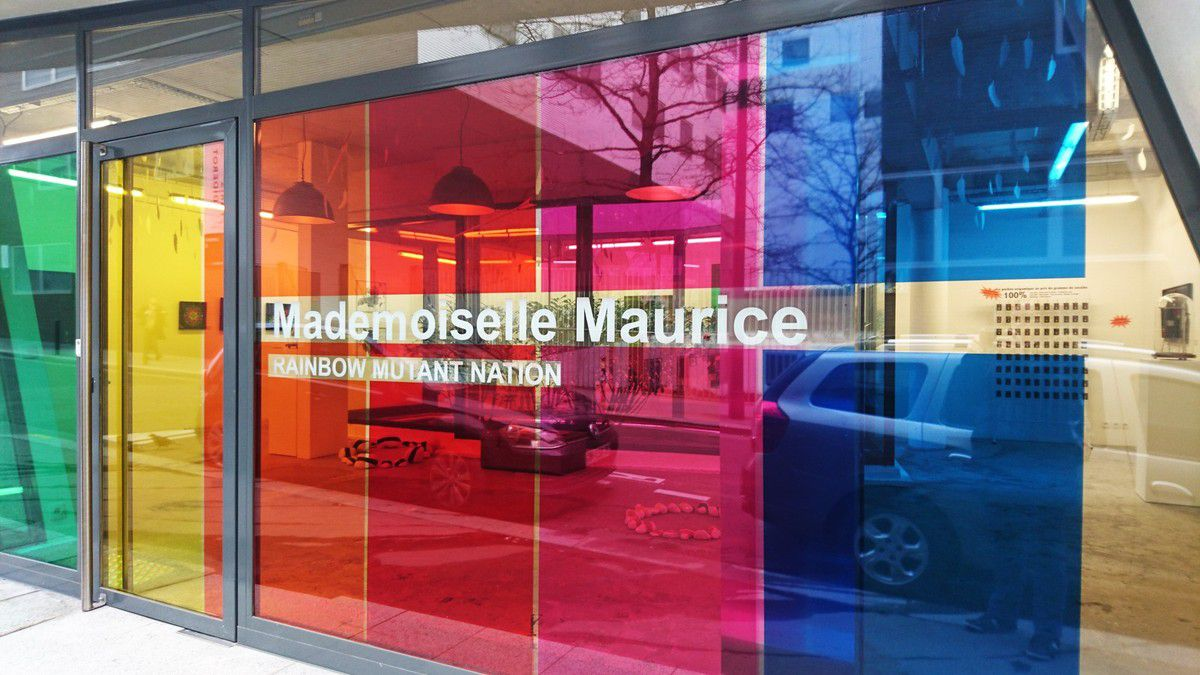 Exposition &quot&#x3B;Rainbow mutant nation&quot&#x3B; de Mademoiselle Maurice à la galerie Mathgoth