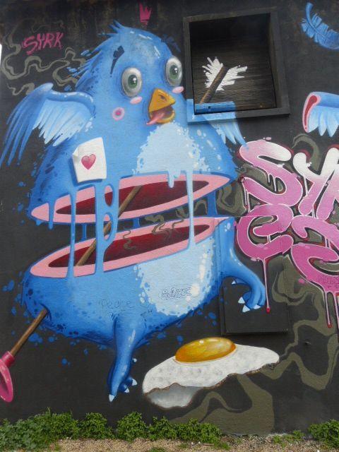 Street art à La Rochelle