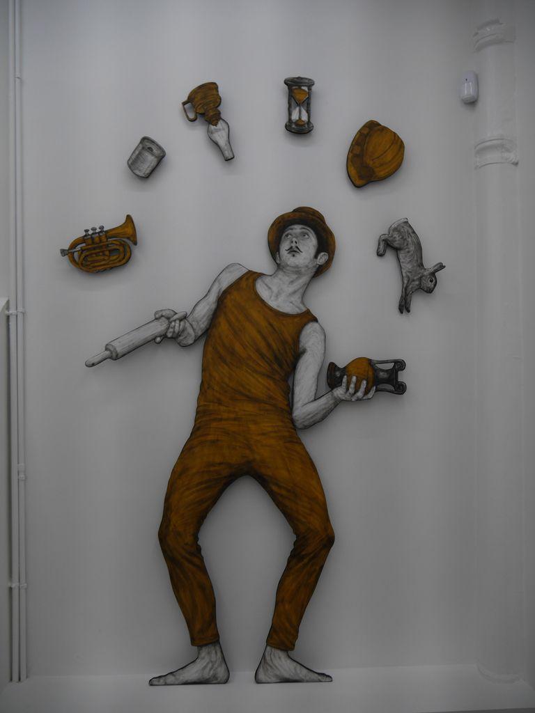 Levalet expose à la galerie Openspace