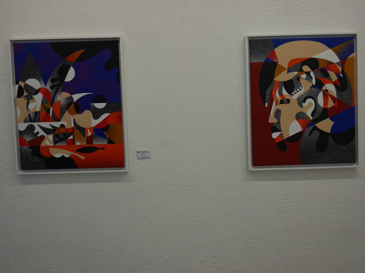 "Reka expose son ""mirage"" à la galerie Mathgoth"