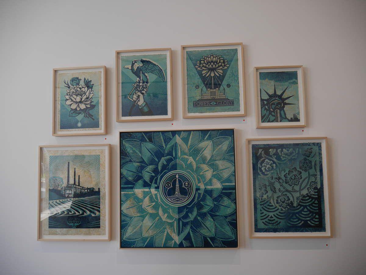 """Exposition """"Earth Crisis"""" de Shepard Fairey à la Galerie Itinerrance"""