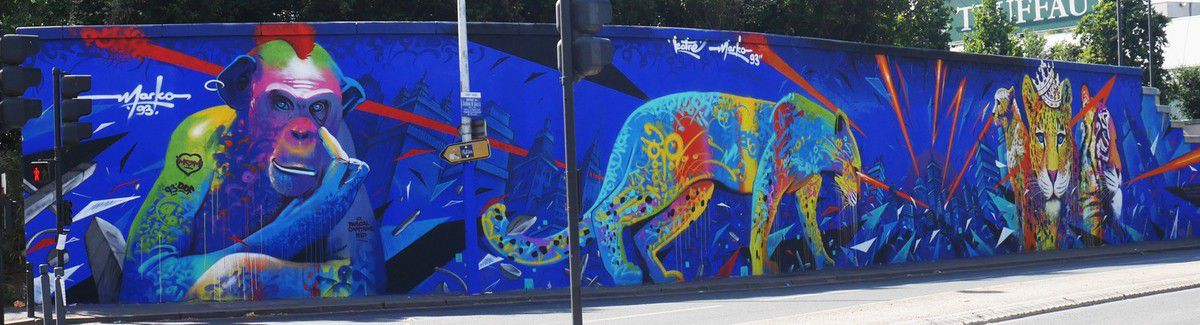 Street art avenue : street art le long du canal Saint-Denis