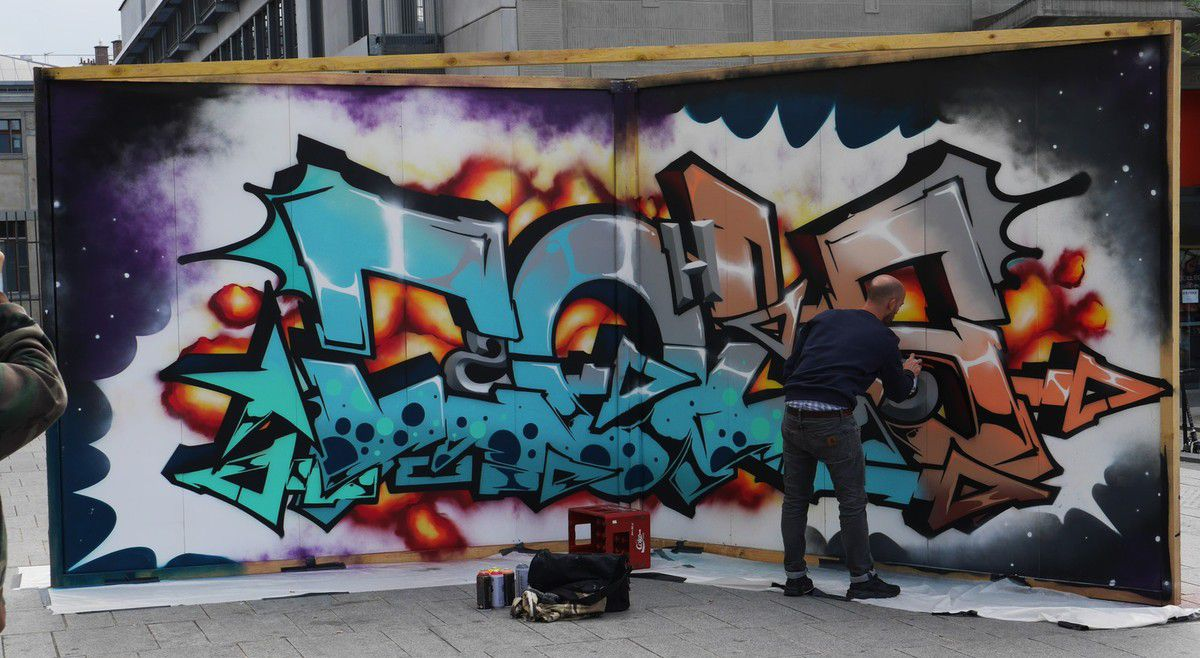 Festival street art: Top to bottom 2016