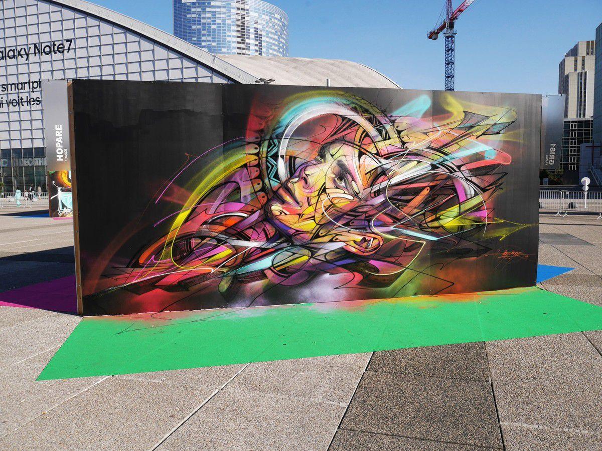 Underground effect 2 à La Défense