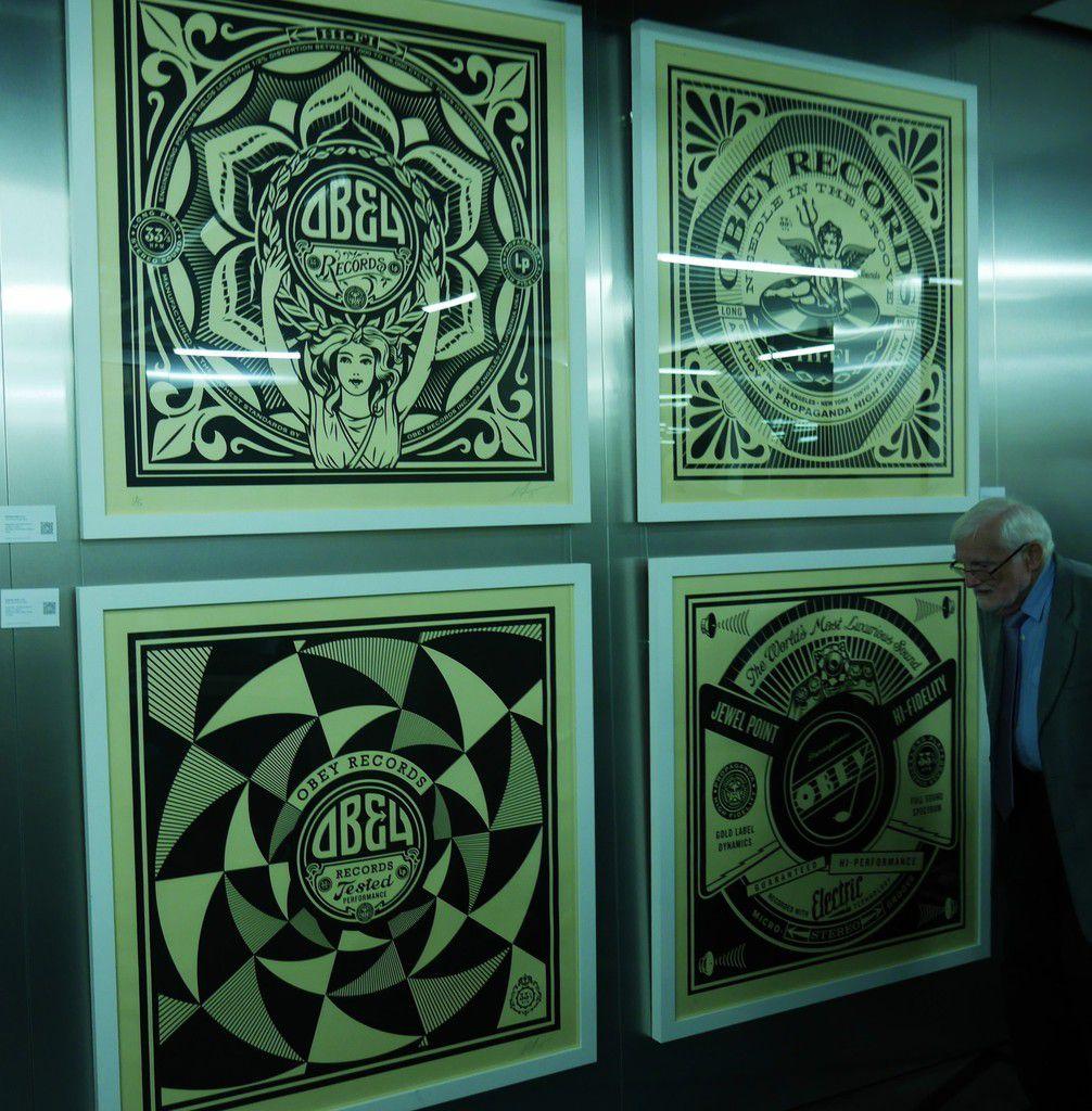 ART 42: l'expo street art dans l'école d'informatique de Xavier Niel
