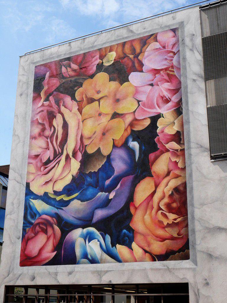 Festival de street art: the Crystal Ship à Ostende