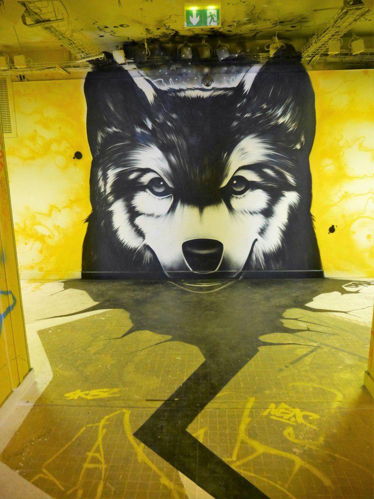 Rehab#2: street art à la cité universitaire de Paris